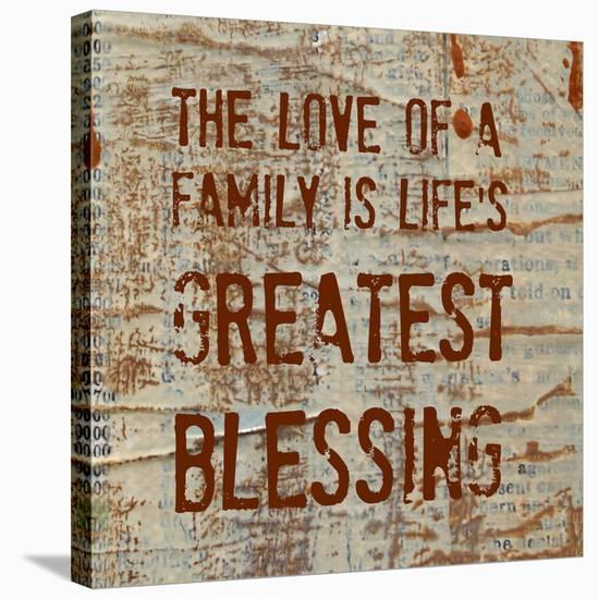 The Love of a Family-Irena Orlov-Stretched Canvas Print