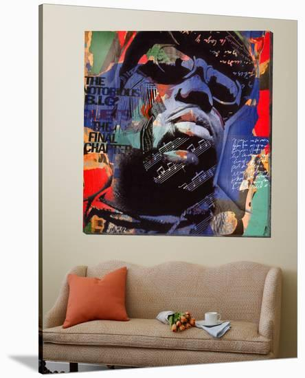 The Notorious BIG-Micha Baker-Loft Art