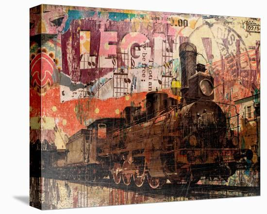 The Old Railway-Irena Orlov-Stretched Canvas Print