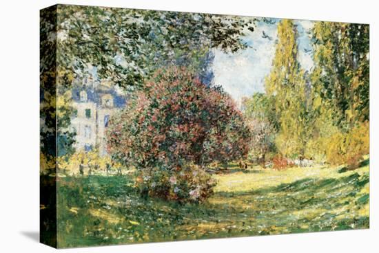 The Parc Monceau, Paris, c.1876-Claude Monet-Stretched Canvas Print