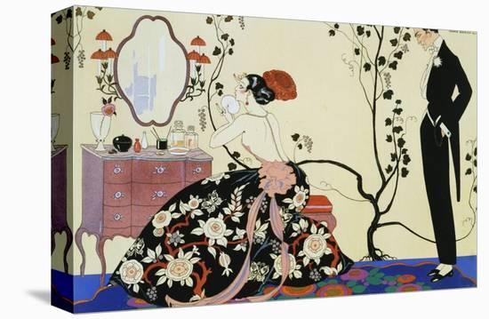 The Powder Puff-Georges Barbier-Premier Image Canvas