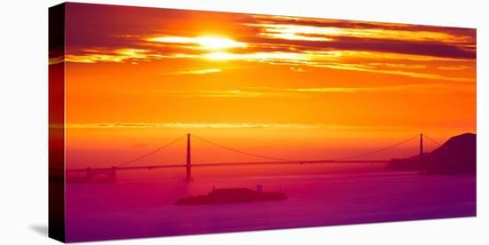The Sun Gate-Greg Linhares-Stretched Canvas Print