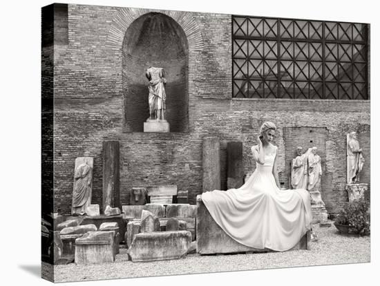 Thermae Diocletiani, Rome-Haute Photo Collection-Stretched Canvas Print