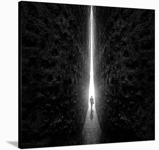 This Way-Sulaiman Almawash-Stretched Canvas Print