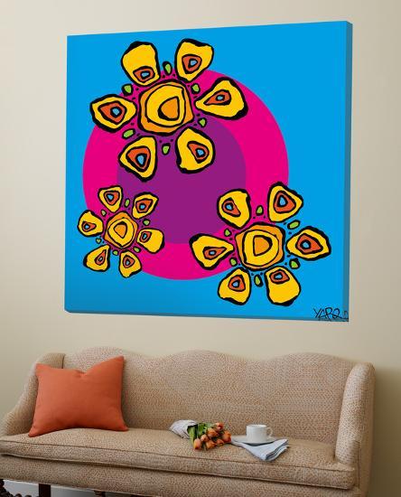 Three Flowers-Yaro-Loft Art