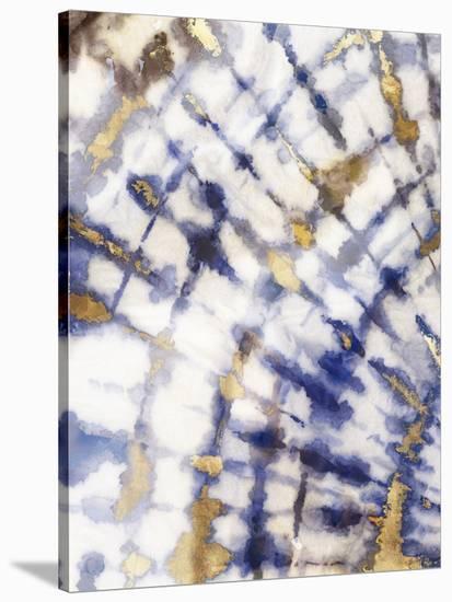Tie Dye I-PI Creative Art-Stretched Canvas Print