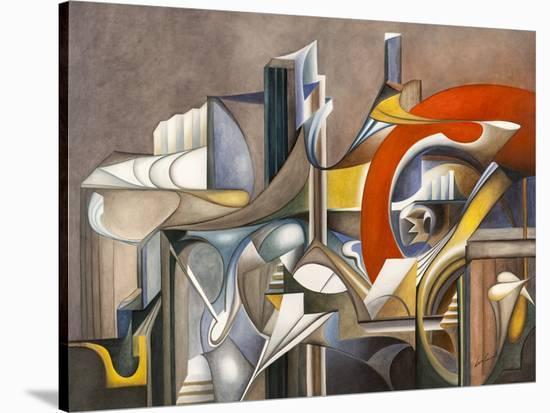 Tramonto-Laura Ceccarelli-Stretched Canvas Print