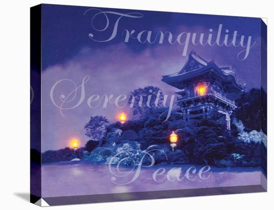 Tranquility Serenity Peace--Gallery Wrapped Canvas