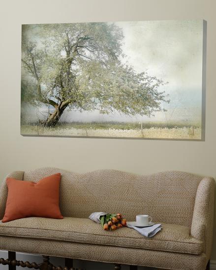 Tree in Field of Flowers-Mia Friedrich-Loft Art