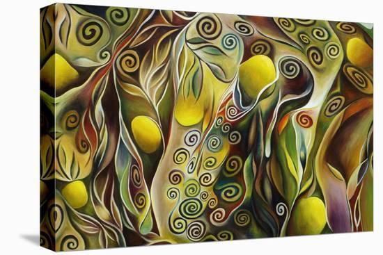 Tree Of Life-Hyunah Kim-Stretched Canvas Print