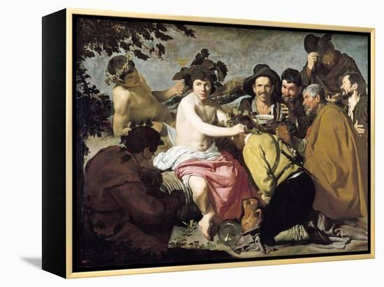 Triumph of Bacchus, 1628-Diego Velazquez-Framed Canvas Print