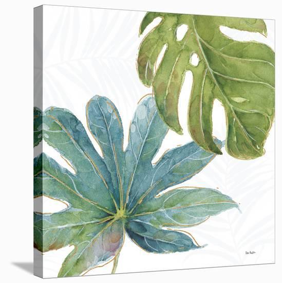 Tropical Blush VII-Lisa Audit-Stretched Canvas Print
