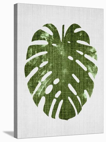 Tropical Leaf 1-LILA X LOLA-Stretched Canvas Print