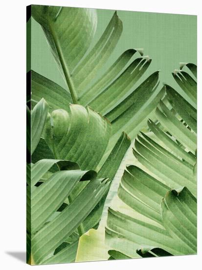 home decor ideas use tropical leaves.htm tropical leaves 2 stretched canvas print by lila x lola art com  tropical leaves 2 stretched canvas