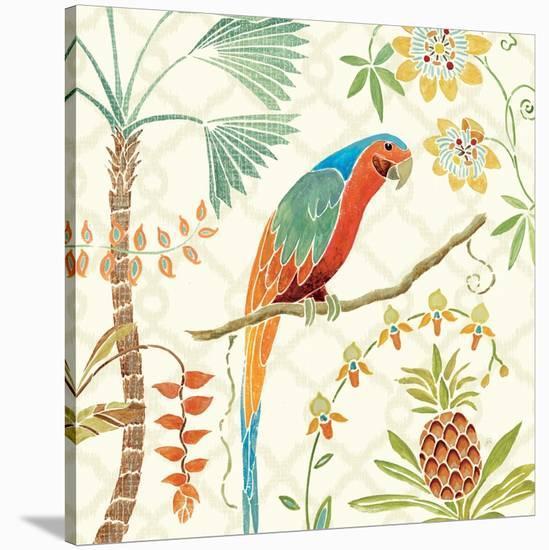 Tropical Paradise III-Daphne Brissonnet-Stretched Canvas Print