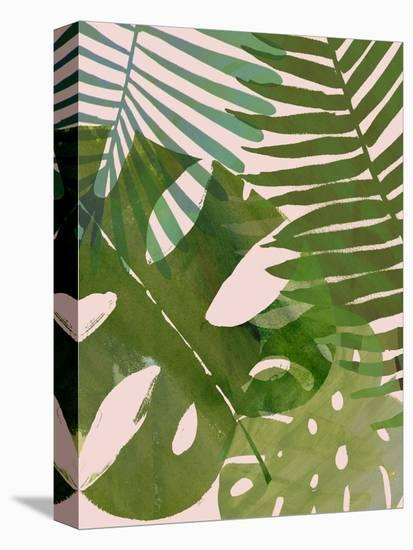Tropical Tangle II-Victoria Borges-Stretched Canvas Print