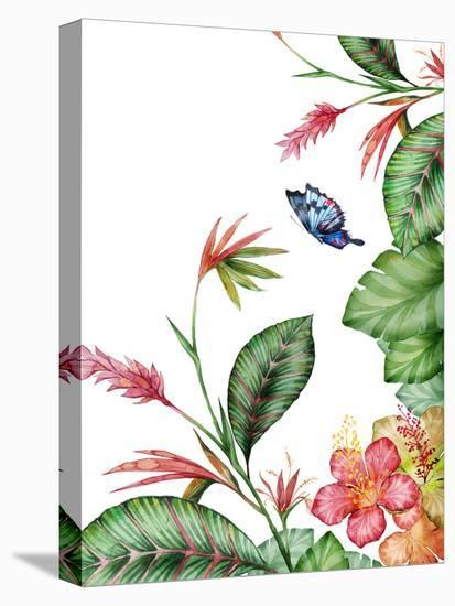 Tropical-Victoria Nelson-Stretched Canvas Print