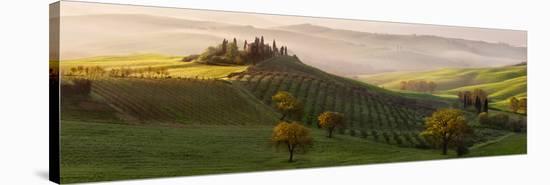 Tutte Le Strade Portano a Belvedere-Margarita Chernilova-Stretched Canvas Print