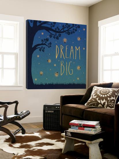 Twilight Fireflies I-Laura Marshall-Loft Art