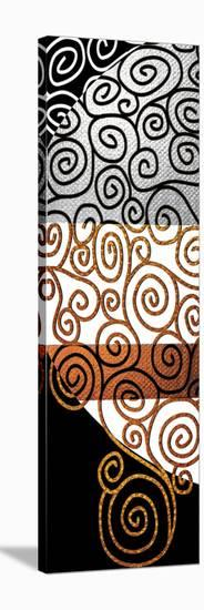 Twisting Whirly Swirls after Klimt-Michael Timmons-Stretched Canvas Print