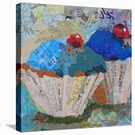 Two Blue 6X6--Stretched Canvas Print