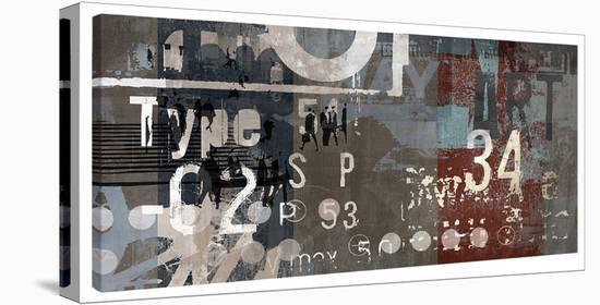 Type Art I-Sven Pfrommer-Gallery Wrapped Canvas