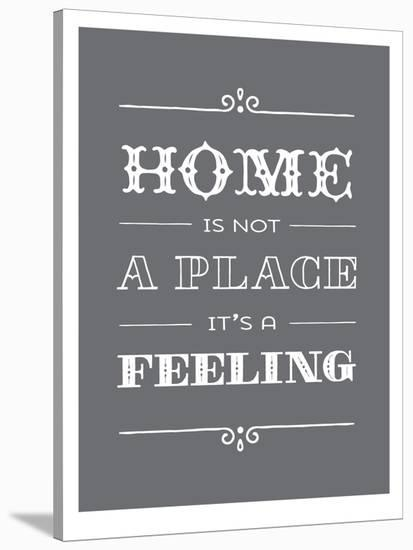 Type Home-Brooke Witt-Stretched Canvas Print