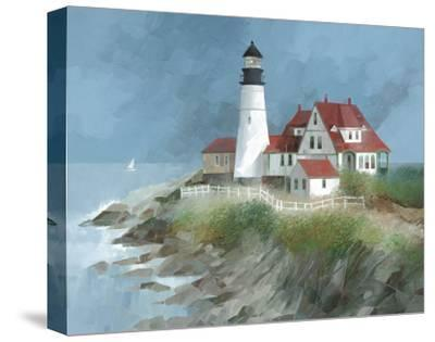 Portland Light, Maine-Albert Swayhoover-Stretched Canvas Print