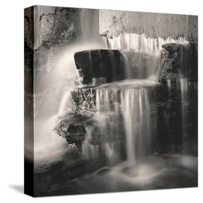 Waterfall, Study no. 1-Andrew Ren-Stretched Canvas Print