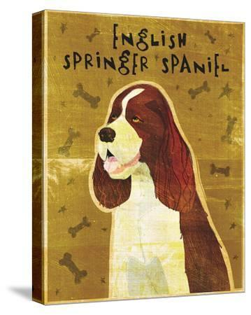 English Springer Spaniel-John Golden-Stretched Canvas Print