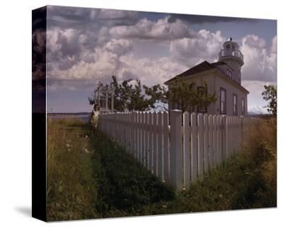Port Townsend I-Steve Hunziker-Stretched Canvas Print