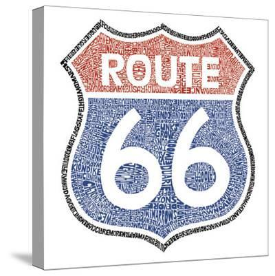 The Legendary Route 66--Stretched Canvas Print