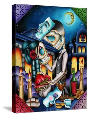 Masquerade-Dave Sanchez-Stretched Canvas Print