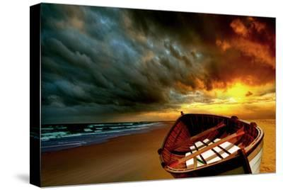 Soft Sunrise on the Beach, no. 9-Carlos Casamayor-Stretched Canvas Print