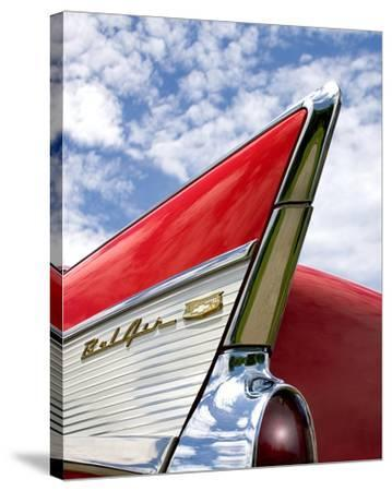 Red-Richard James-Stretched Canvas Print