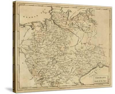 Germany North, c.1812-Aaron Arrowsmith-Stretched Canvas Print