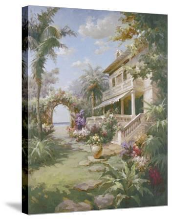 Garden Estate-James Reed-Stretched Canvas Print