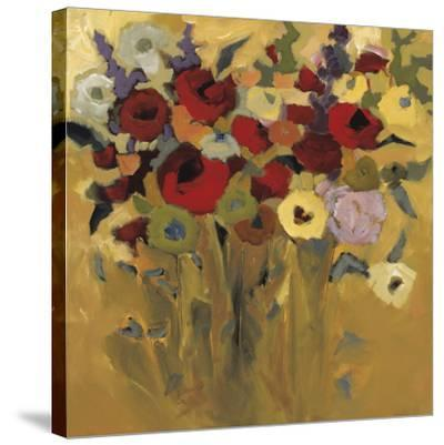 Jewel Bouquet-Jennifer Harwood-Stretched Canvas Print
