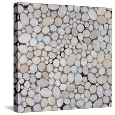 River Pebbles-Isabel Lawrence-Stretched Canvas Print