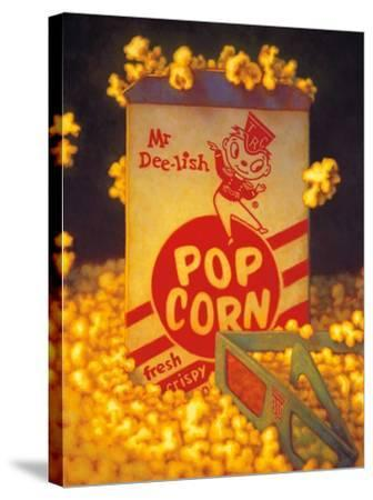 3D Popcorn-TR Colletta-Stretched Canvas Print