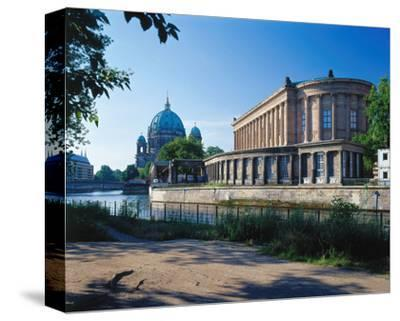 Old National Gallery Berlin--Stretched Canvas Print