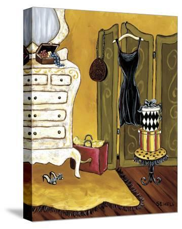 Dressing Room I-Krista Sewell-Stretched Canvas Print