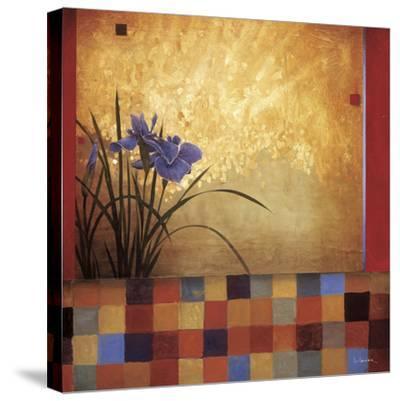 Iris Quilt-Don Li-Leger-Stretched Canvas Print