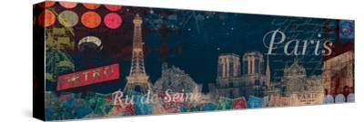 Paris Streets-Tom Frazier-Stretched Canvas Print