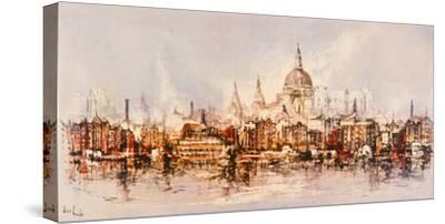 Thameside-Ben Maile-Stretched Canvas Print