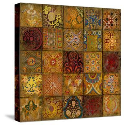 Mosaic III-Douglas-Stretched Canvas Print