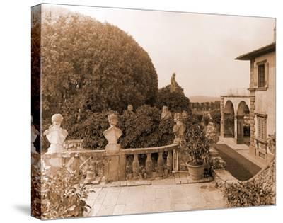 Villa Gamberaia-Charles Latham-Stretched Canvas Print