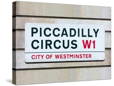 Piccadilly Circus-Joseph Eta-Stretched Canvas Print