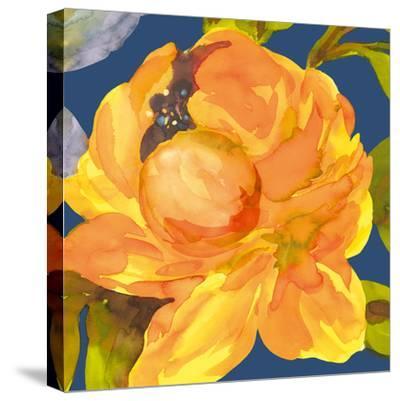 Night Flower I-Sandra Jacobs-Stretched Canvas Print