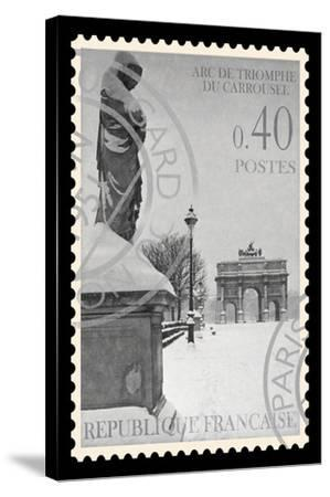 Stamp Collection I-The Vintage Collection-Stretched Canvas Print